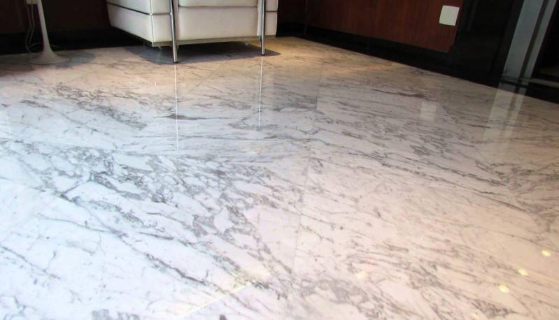 Polimentos de Mármores Branco Núcleo Residencial Padre Josimo - Polimento e Restauração de Mármore