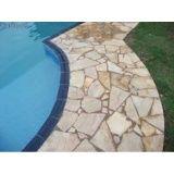 limpeza de pedra de piscina no Limoeiro