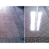 limpeza de piso de concreto