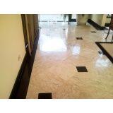 limpeza de piso de mármore