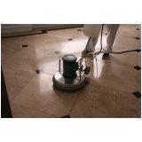 polimento de piso de mármore Santa Cecília
