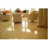 polimento em piso de mármore Pari