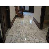 polimento em pisos de mármore Alphaville Residencial Dois